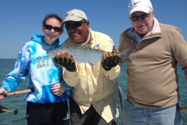 fishing for bonefish and permit with old clients